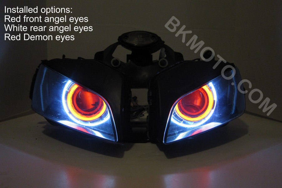 2001 2006 Honda Cbr600f4i F4i Hid Bixenon Projector Headlights Kit