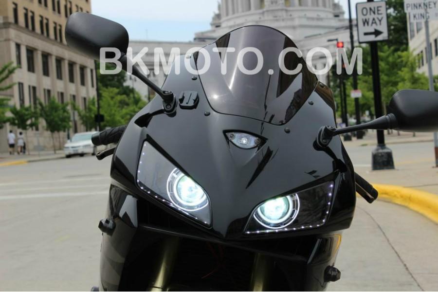 2003 Dual Headlight Mod For Hids 600rrnet