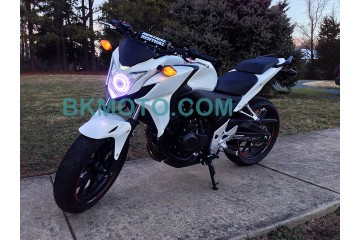 2013 - 2016 Yamaha FZ09 FZ07 MT09 MT07 HID BiXenon Projector headlight kit with angel eye halo