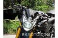 2010 - 2013 Yamaha FZ8 FZ8N HID BiXenon Projector headlight kit with angel eye halo