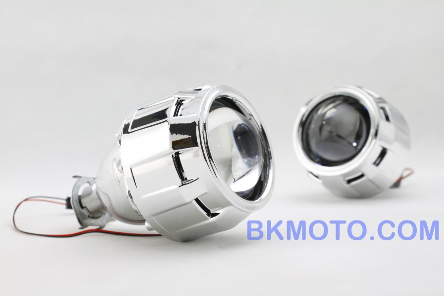 BiXenon Projector kit with angel eyes halo MC-MH1 on