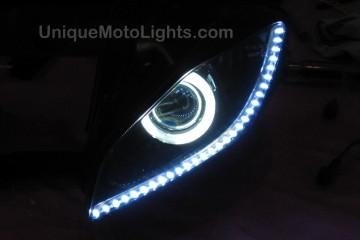 """Flexible LED Strips 19"""""""