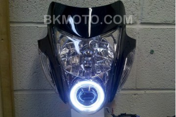 Sonic StreetFighter headlight black